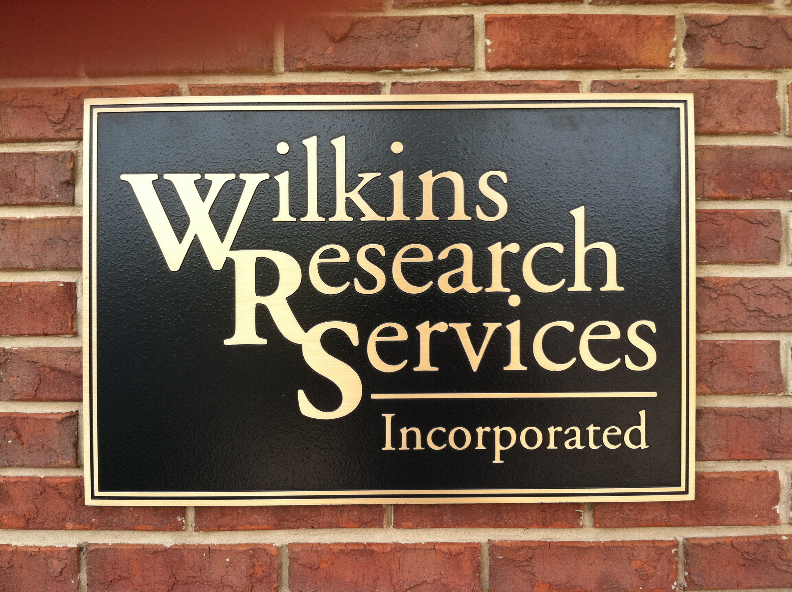 wilkins sign Wilkins Research Services LLC
